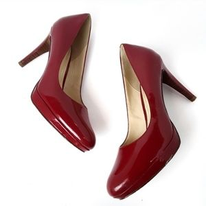 Cole Haan | Nike Air Red Round toe pumps 10 B
